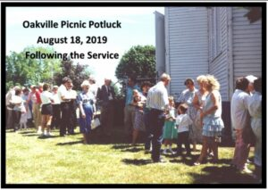 Church Picnic Potluck @ Oakville Presbyterian Church
